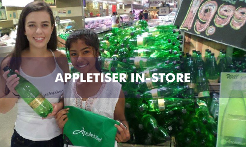 APPLETISER IN-STORE