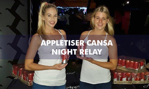 APPLETISER CANSA NIGHT RELAY