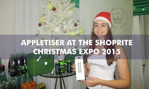 APPLETISER AT THE SHOPRITE CHRISTMAS EXPO
