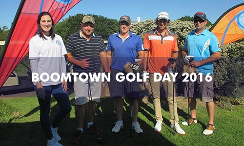 BOOMTOWN GOLF DAY 2016
