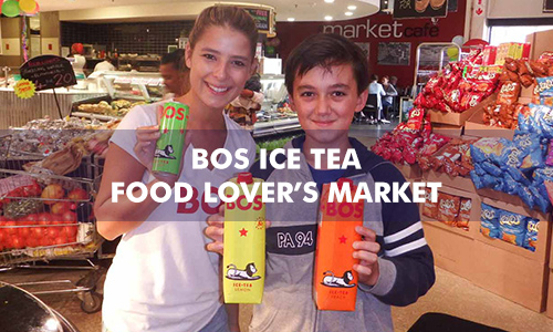 BOS ICE TEA AT FOOD LOVER'S MARKET