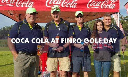 COCA COLA AT FINRO GOLF DAY 2016