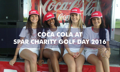 COCA COLA AT SPAR CHARITY GOLF DAY 2016
