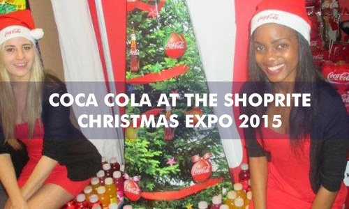 COCA COLA AT THE SHOPRITE CHRISTMAS EXPO 2015