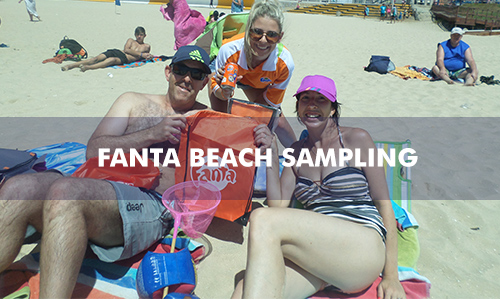 FANTA BEACH SAMPLING