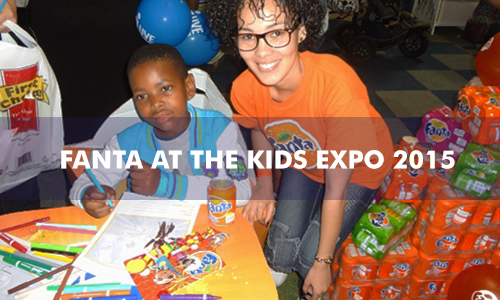 FANTA AT THE KIDS EXPO 2015