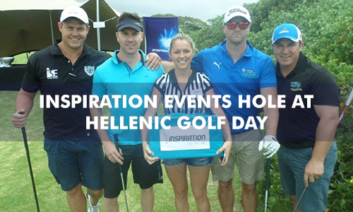 INSPIRATION EVENTS HOLE AT THE HELLENIC GOLF DAY