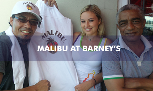 MALIBU CARRIBEAN REMIXED AT BARNEY'S