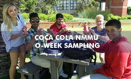 COCA COLA NMMU O-WEEK SAMPLING