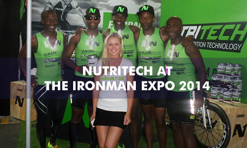 NUTRITECH AT THE IRONMAN EXPO 2014