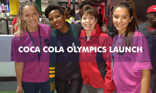 COCA COLA OLYMPICS LAUNCH