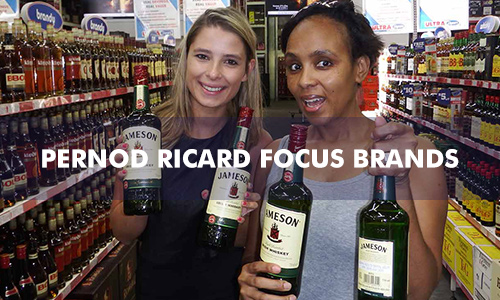 PERNOD RICARD FOCUS BRANDS DECEMBER 2015