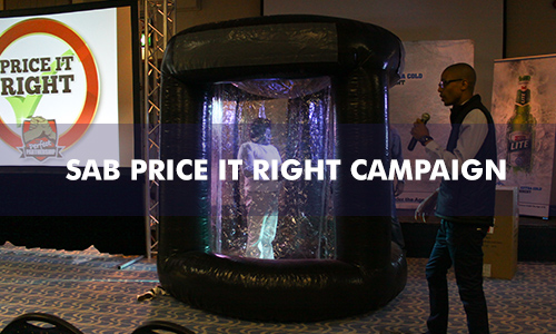 SOUTH AFRICAN BREWERIES – PRICE IT RIGHT CAMPAIGN