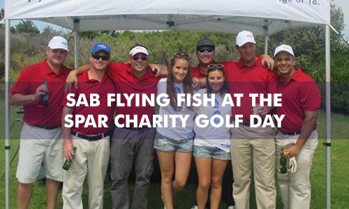 SAB FLYING FISH AT THE SPAR CHARITY GOLF DAY