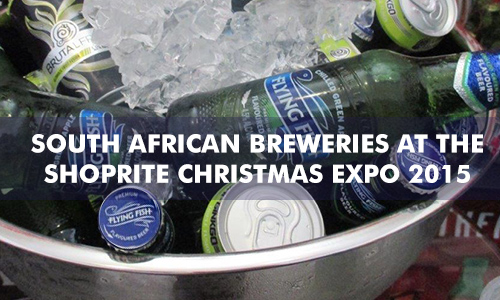 SOUTH AFRICAN BREWERIES AT THE SHOPRITE CHRISTMAS EXPO 2015