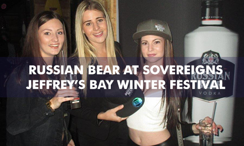 RUSSIAN BEAR AT SOVEREIGNS – JEFFREY'S BAY WINTER FESTIVAL