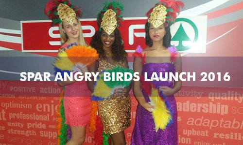 SPAR ANGRY BIRDS LAUNCH 2016