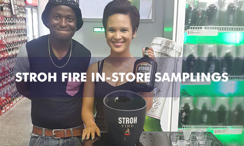 STROH FIRE IN-STORE SAMPLINGS
