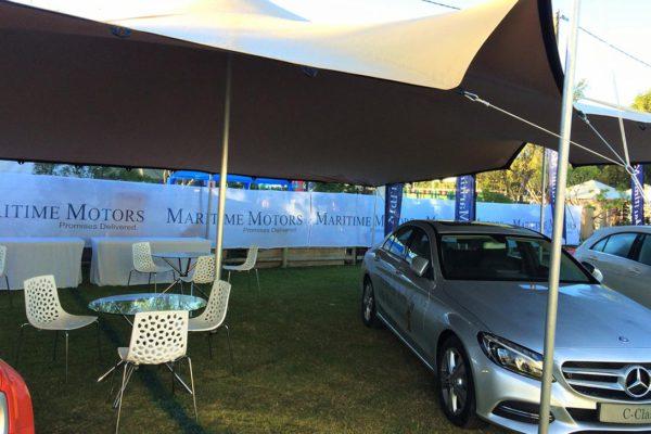 Wildsfees Mercedes Benz – 10mx8m