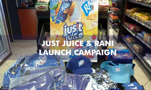 JUST JUICE & RANI LAUNCH CAMPAIGN