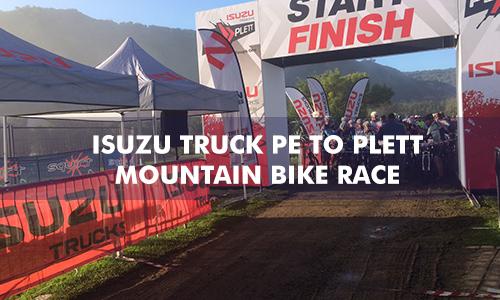 ISUZU TRUCK PE TO PLETTENBERG BAY MOUNTAIN BIKE RACE