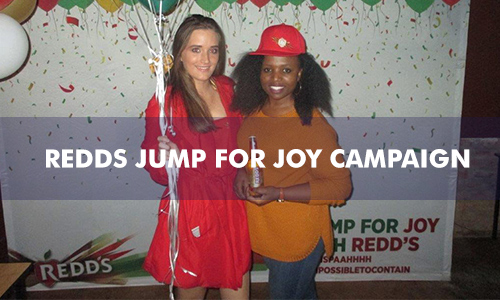 REDDS JUMP FOR JOY CAMPAIGN