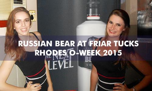 RUSSIAN BEAR AT FRIAR TUCKS – RHODES O-WEEK 2015