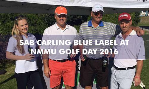 SAB CARLING BLUE LABEL AT THE NMMU GOLF DAY