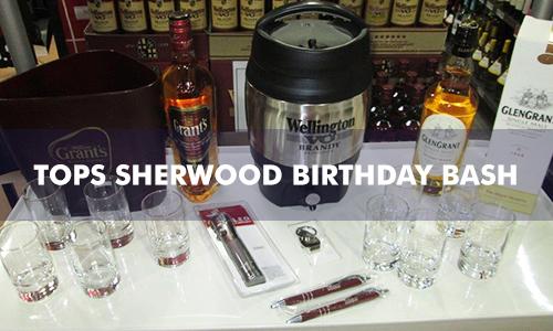 TOPS SHERWOOD BIRTHDAY BASH
