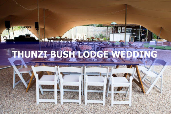Thunzi Bush Lodge Wedding