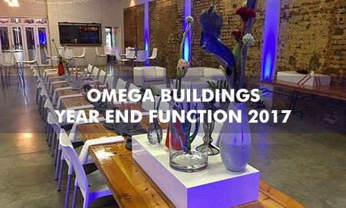 Omega Building's Year End Function 2017
