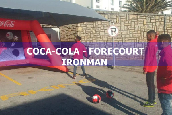 COCA-COLA – FORECOURT – IRONMAN