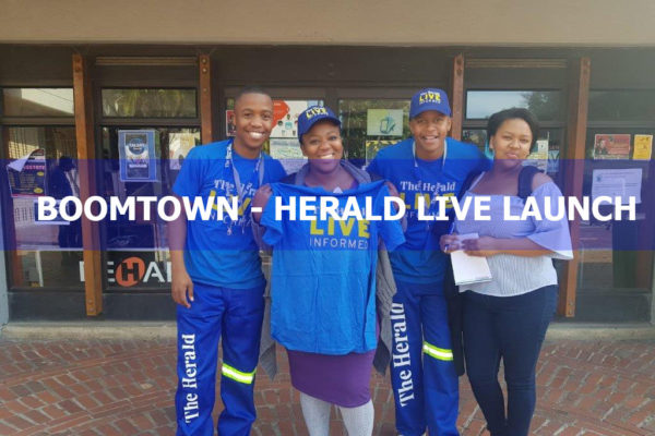 BOOMTOWN – HERALD LIVE LAUNCH