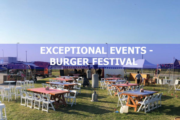 Exceptional Events – Burger Festival